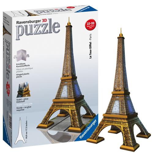 Afbeelding van 3D Puzzel Eiffeltoren 216 Stukjes