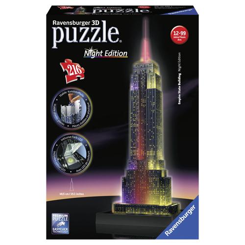 Afbeelding van 3D Puzzel Empire State Building 216 Stukjes