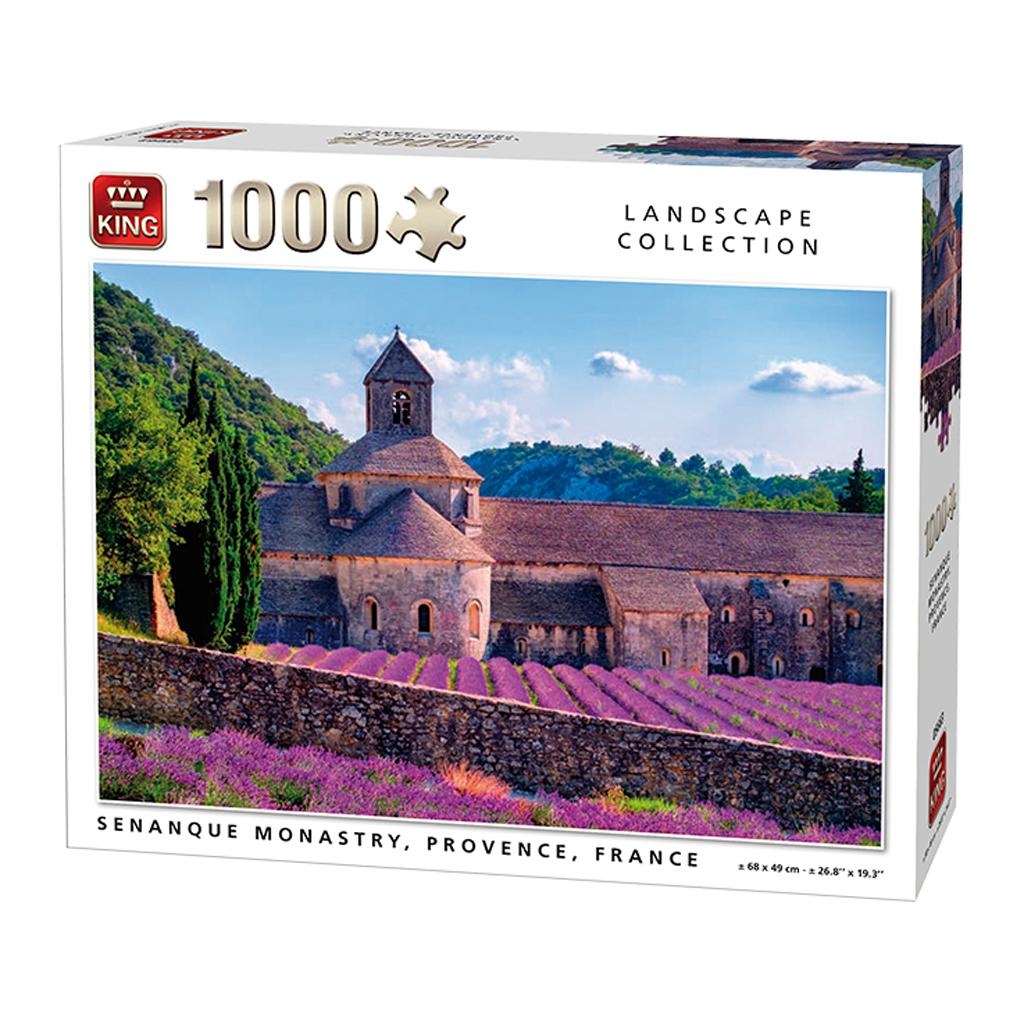 Afbeelding van Puzzel Senanque Monastry France 1000 Stukjes