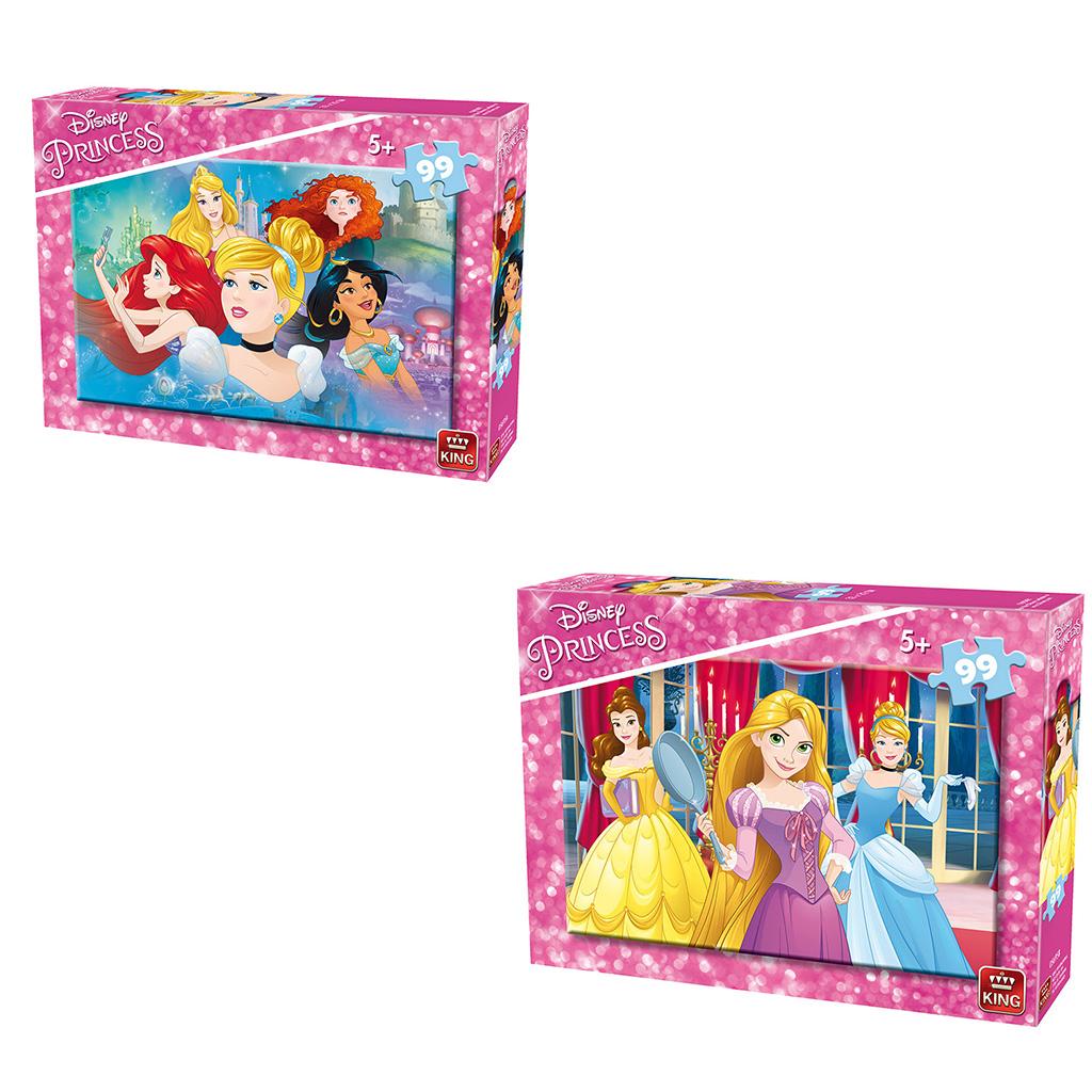 Afbeelding van Puzzel Disney Princess Assorti