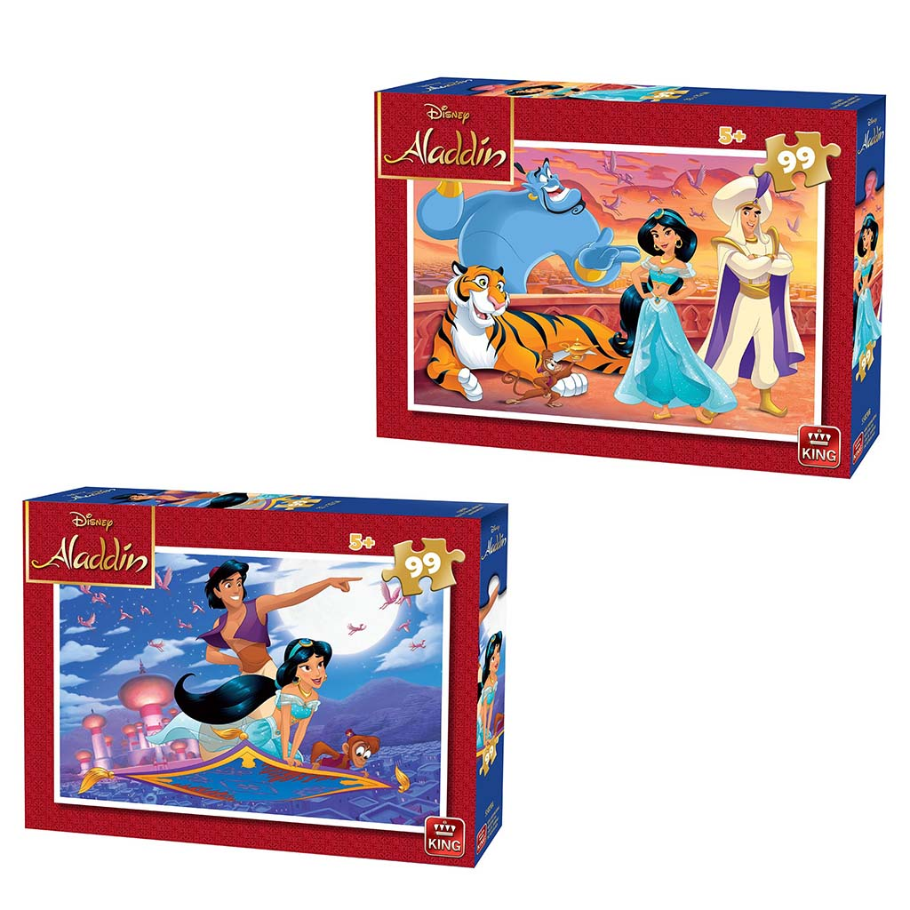 Afbeelding van Puzzel Aladdin 99 Stukjes Assorti