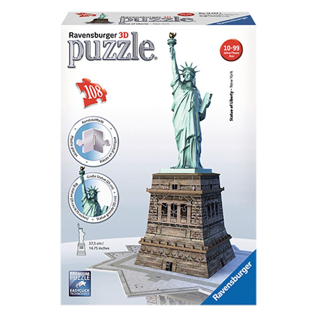Afbeelding van 3D Puzzel Vrijheidsbeeld