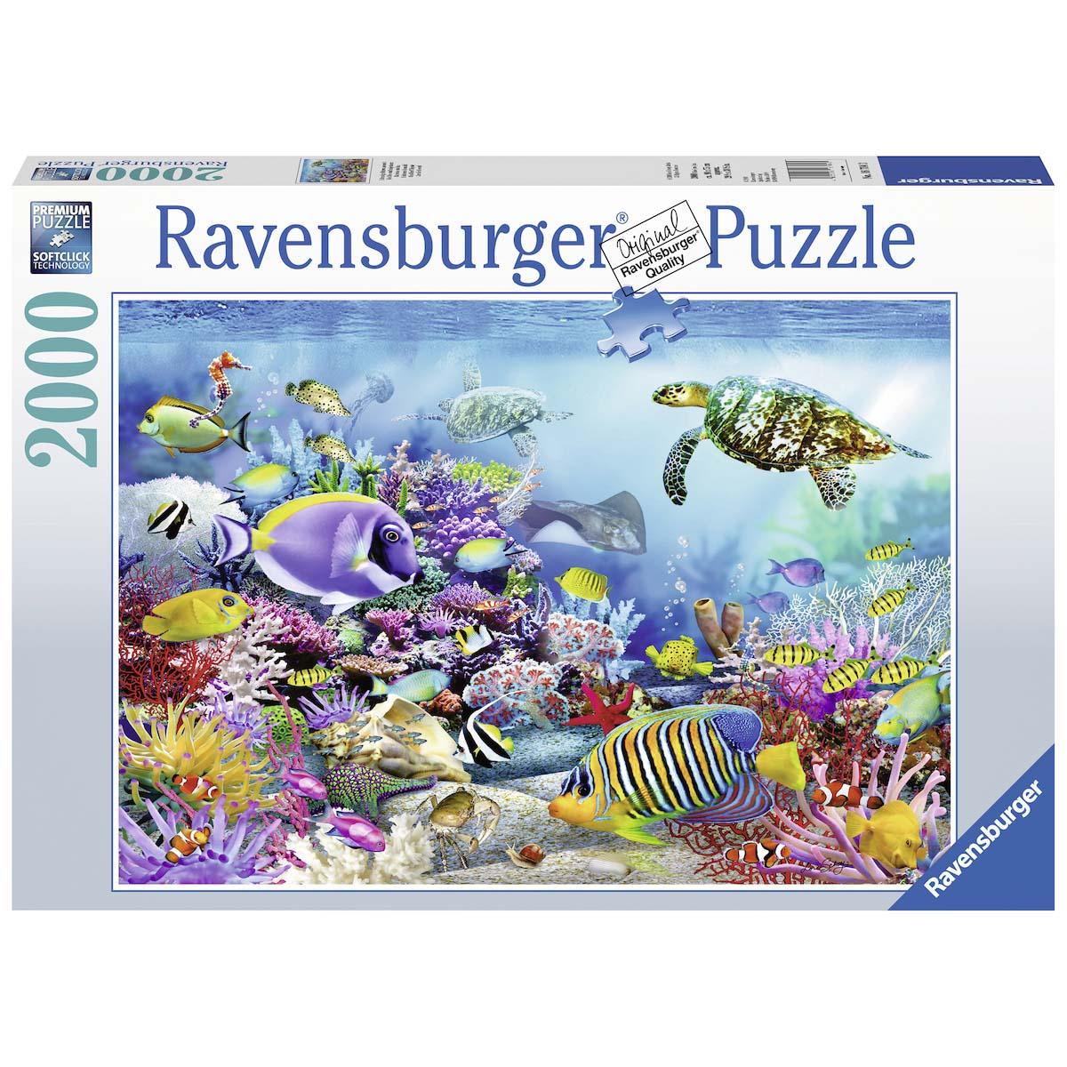 Afbeelding van Puzzel In Het Koraalrif Majesty 2000 Stukjes