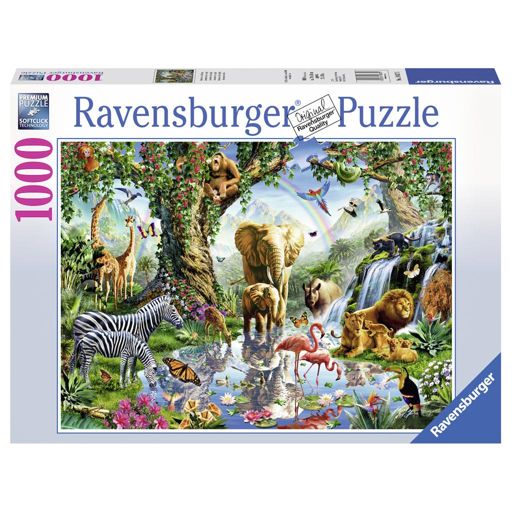Afbeelding van Puzzel Avonturen In De Jungle 1000 Stukjes
