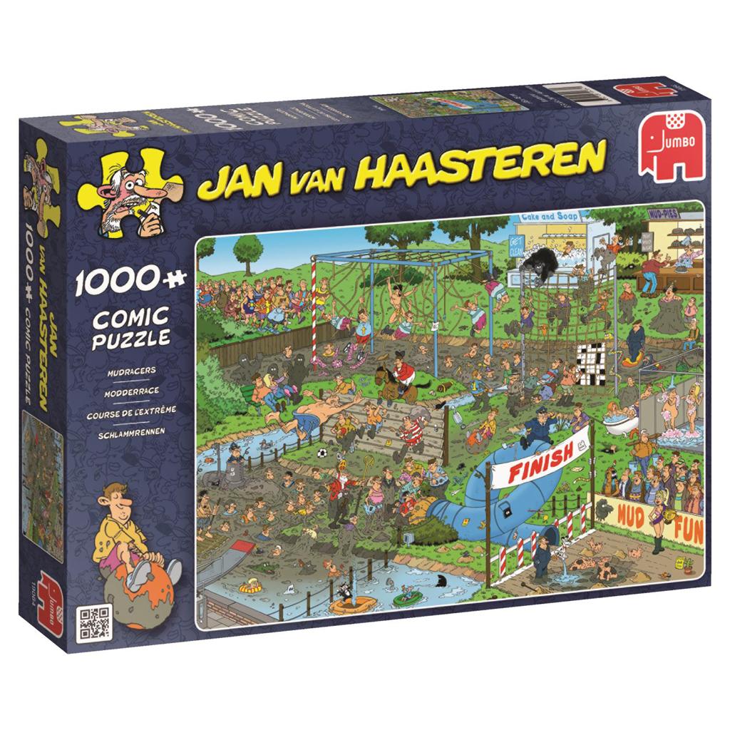 Afbeelding van Jan Van Haasteren Puzzel Modderrace 1000 Stukjes