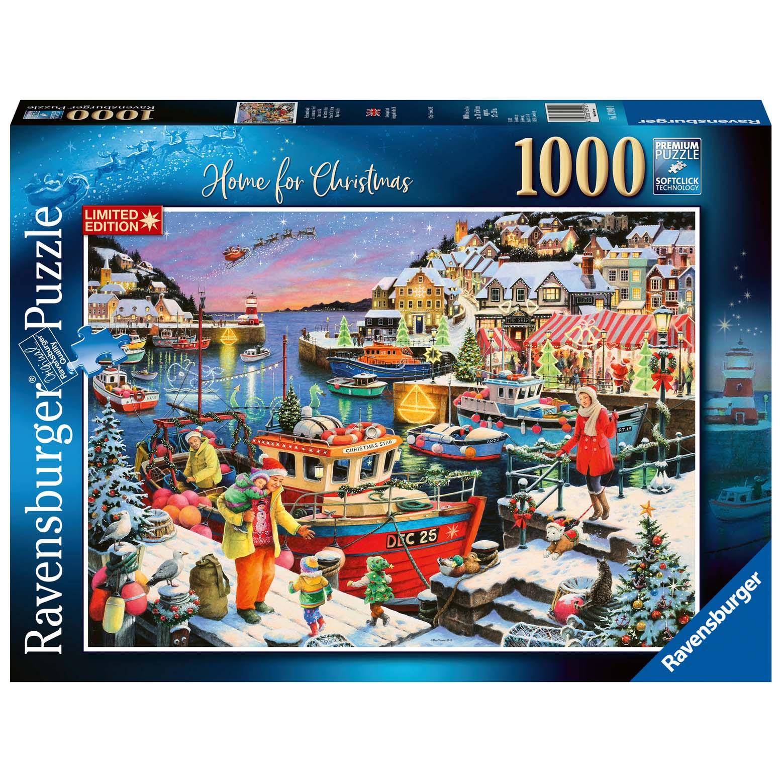 Afbeelding van Puzzel Home For Christmas 1000 Stukjes