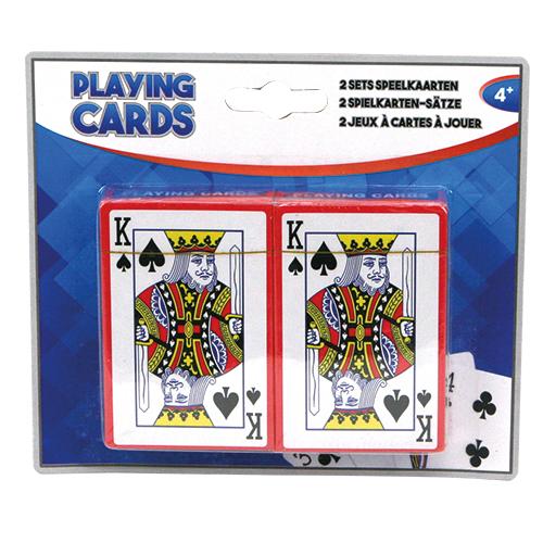 Afbeelding van Speelkaarten 2 Sets