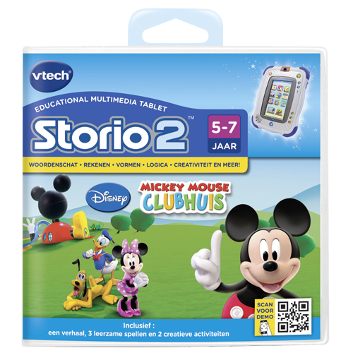 Afbeelding van Storio 2 Game Vtech Mickey Mouse Clubhouse