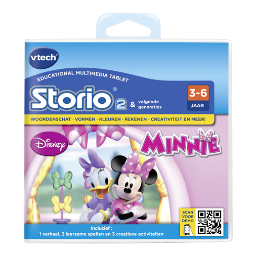 Afbeelding van Storio 2 Game Vtech Minnie Mouse