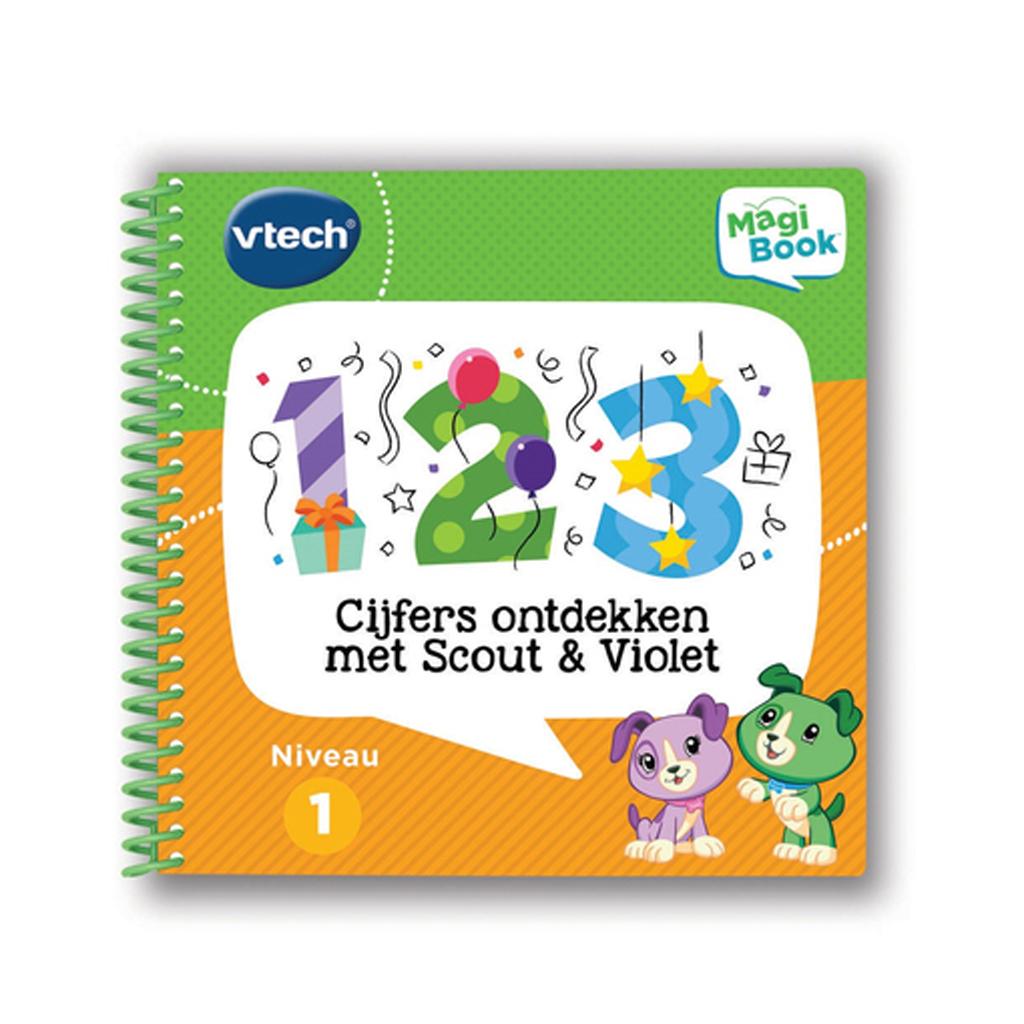 Afbeelding van Magibook Vtech Cijfers Ontdekken Met Scout & Violet