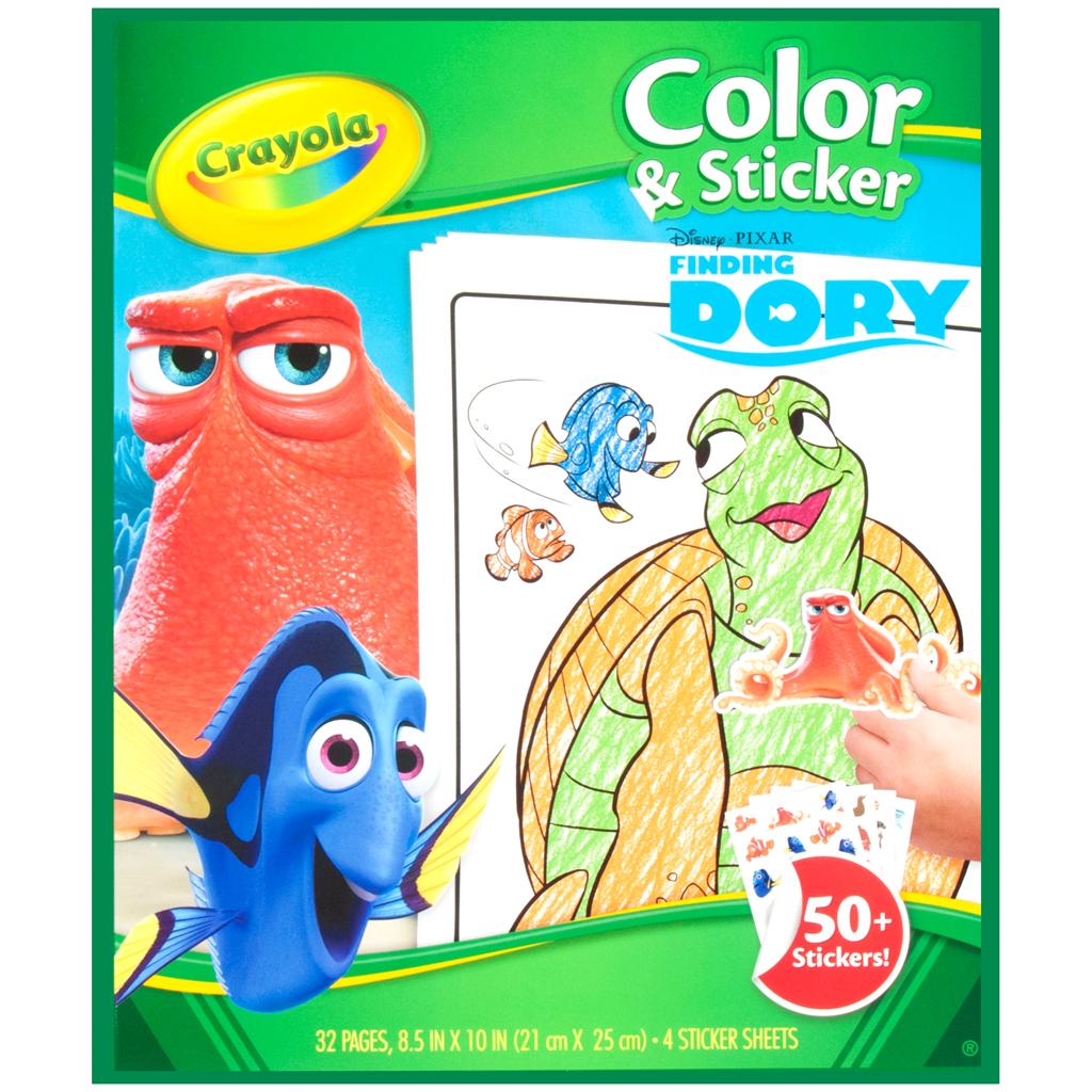Afbeelding van Crayola Kleur/Stickerboek Finding Dory