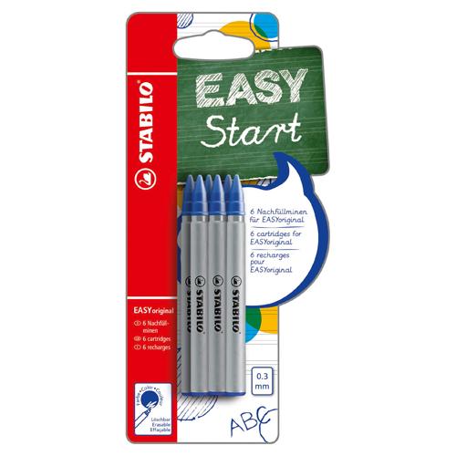 Afbeelding van Stabilo Easy Original Refill Blauw