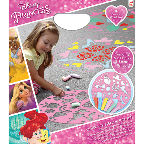 Afbeelding van Stoepkrijt Set Disney Princess