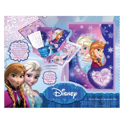 Afbeelding van Dagboek Geheim Met Herinneringsdoos Disney Frozen