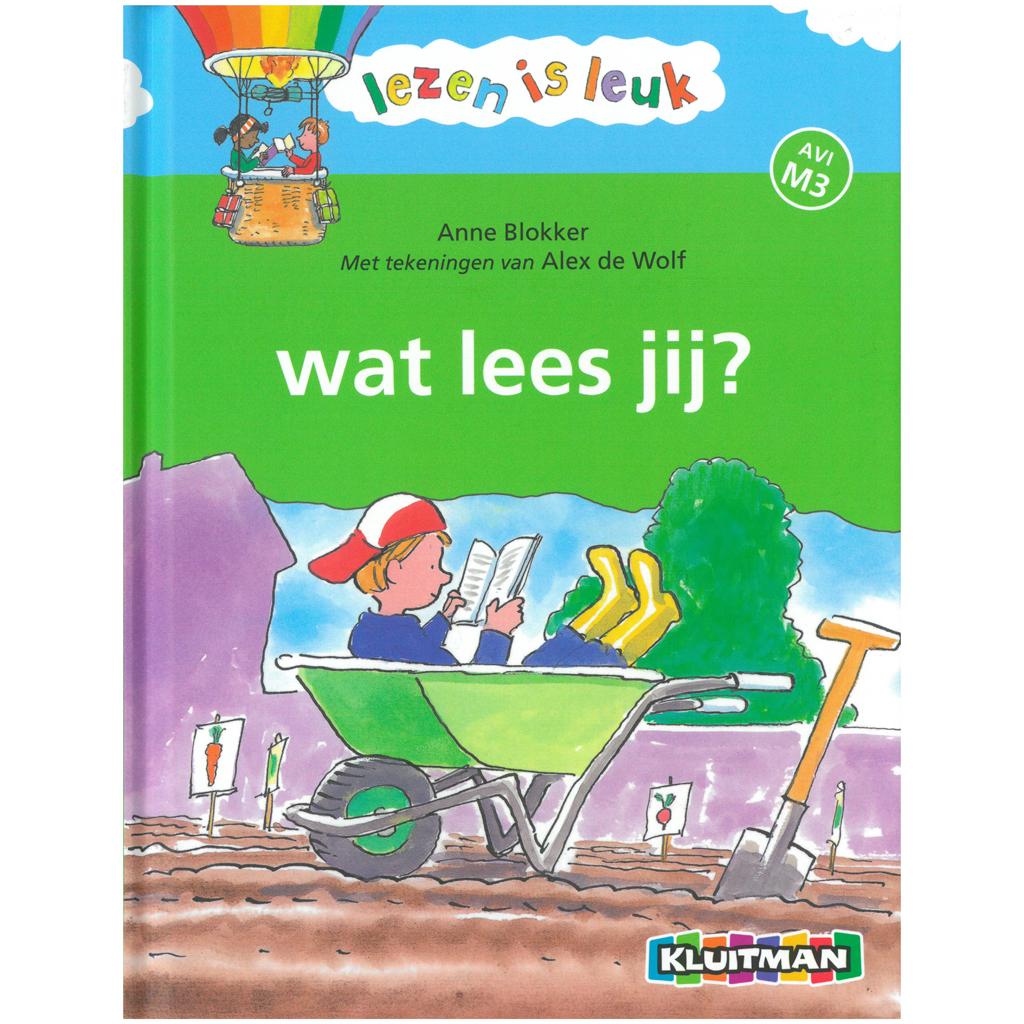 Afbeelding van Boek Wat Lees Jij? AVI M3