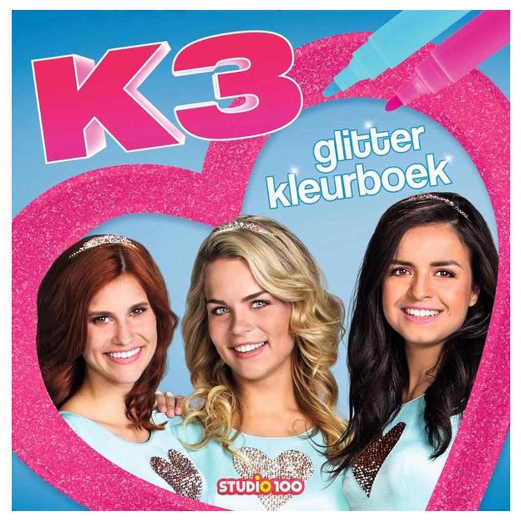 Afbeelding van K3 Glitter Kleurboek