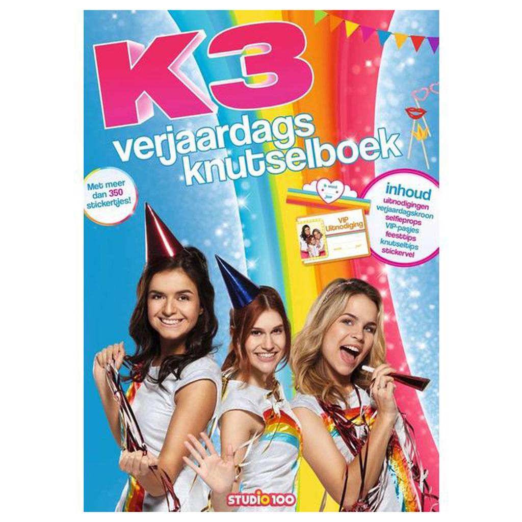 Afbeelding van K3 Doeboek Verjaardagsfeest