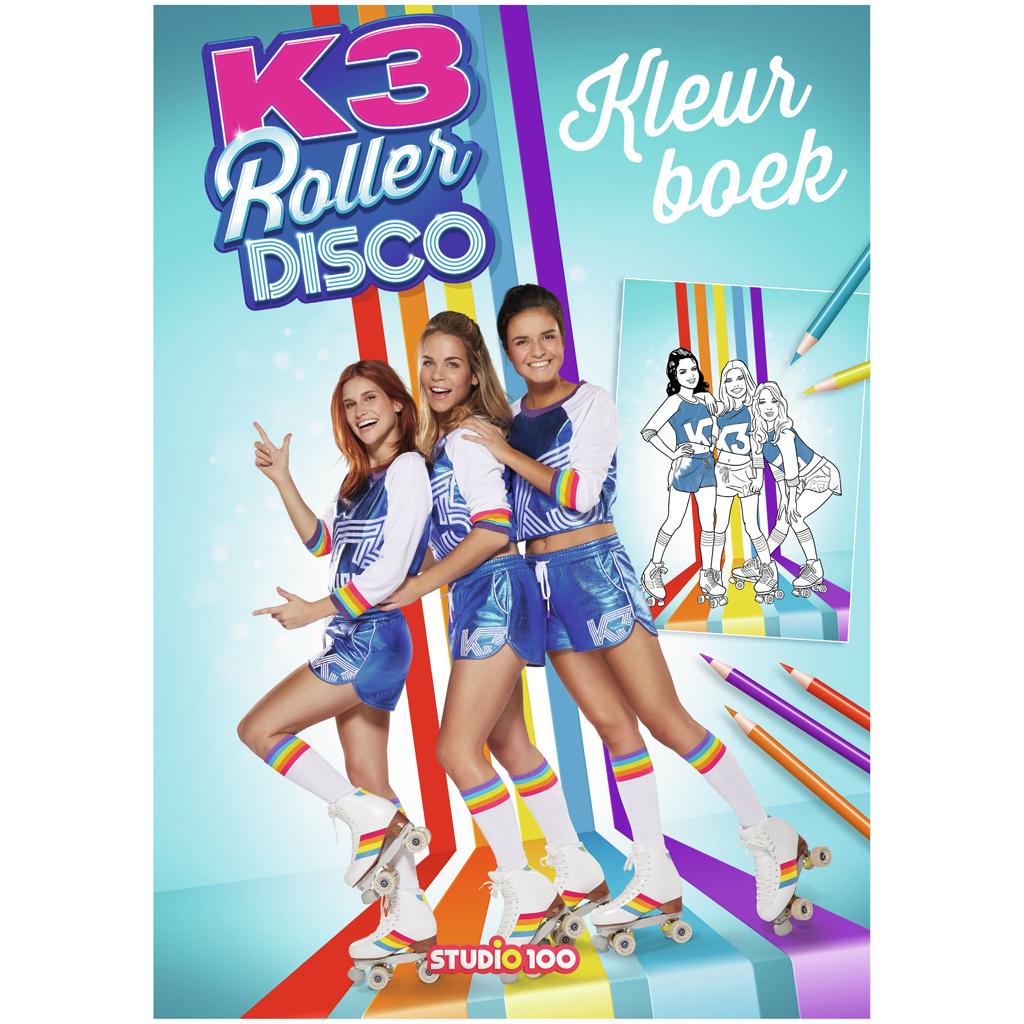 Afbeelding van K3 Kleurboek Roller Disco
