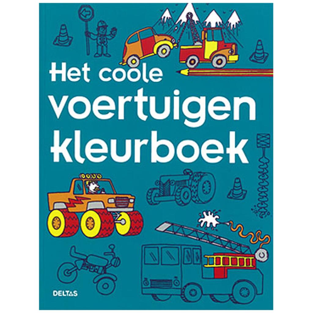Afbeelding van Kleurboek Coole Voertuigen