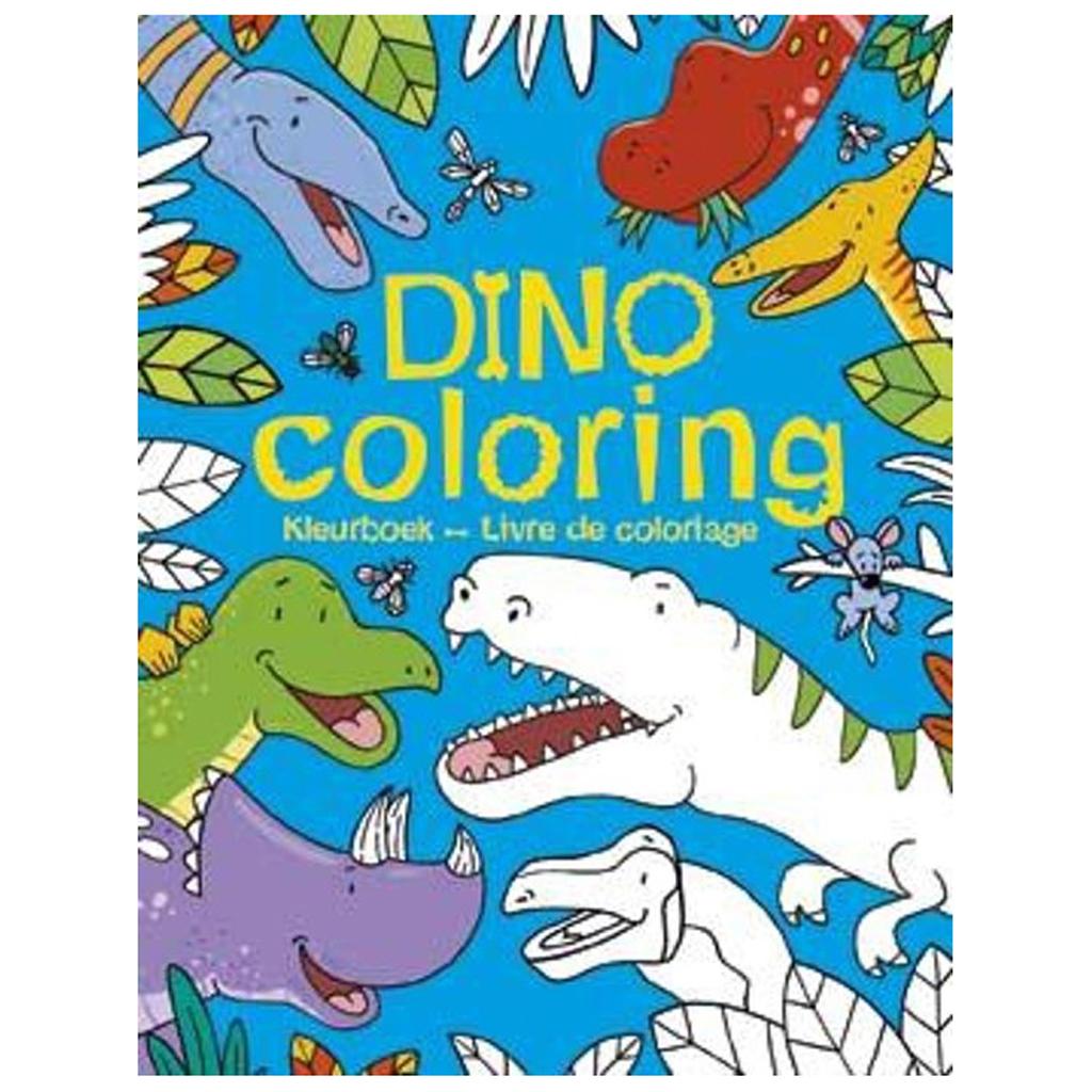 Afbeelding van Kleurboek Dino Coloring