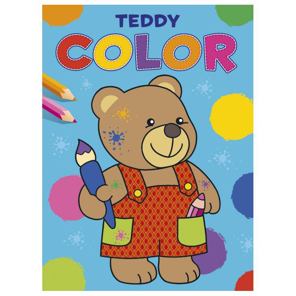 Afbeelding van Kleurboek Teddy Color