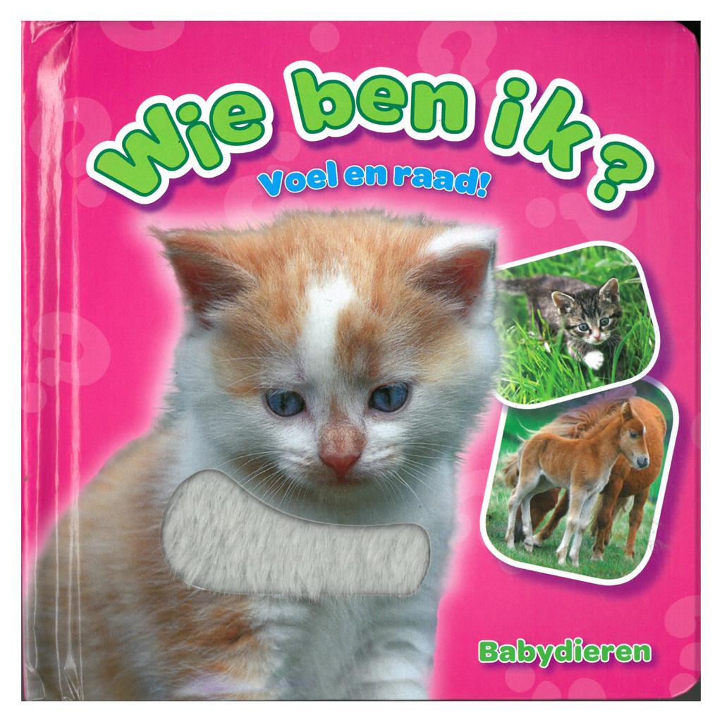Afbeelding van Boek Wie Ben Ik Babydieren