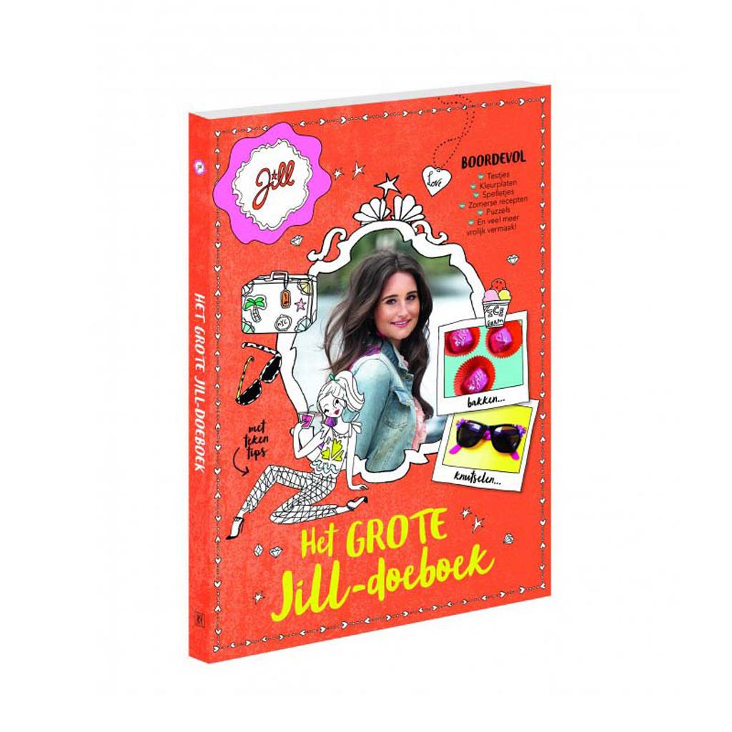 Afbeelding van Boek Jill Het Grote Jill Doeboek
