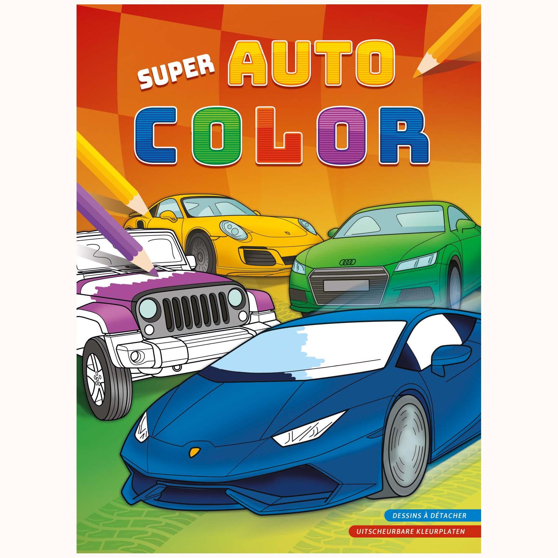 Afbeelding van Kleurboek Super Auto Color