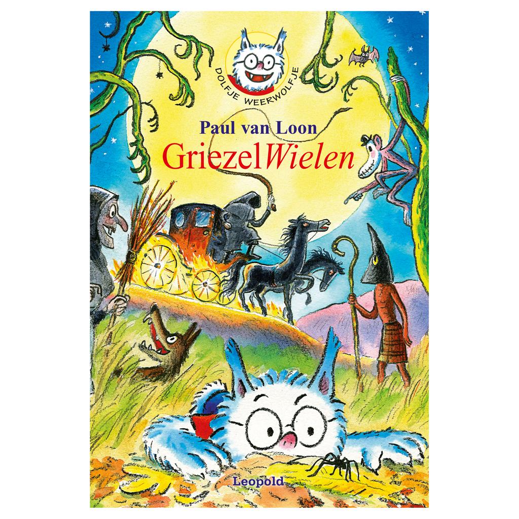 Afbeelding van Boek Dolfje Weerwolfje Griezelwielen