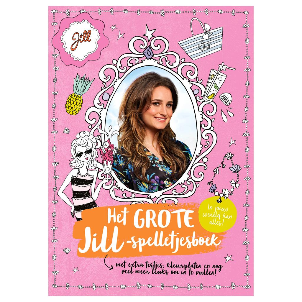 Afbeelding van Boek Jill Het Grote Jill-Spelletjesboek