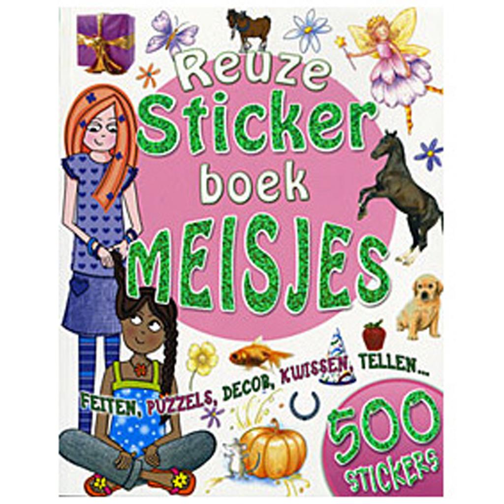 Afbeelding van Boek Reuzestickerboek Meisjes
