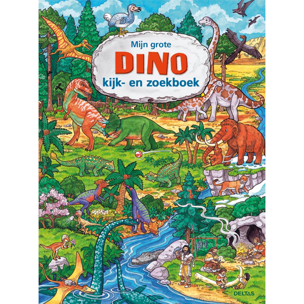 Afbeelding van Boek Kijk- En Zoekboek Dino
