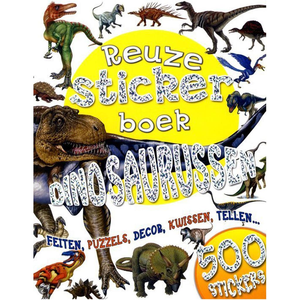 Afbeelding van Boek Reuzestickerboek Dinosaurussen