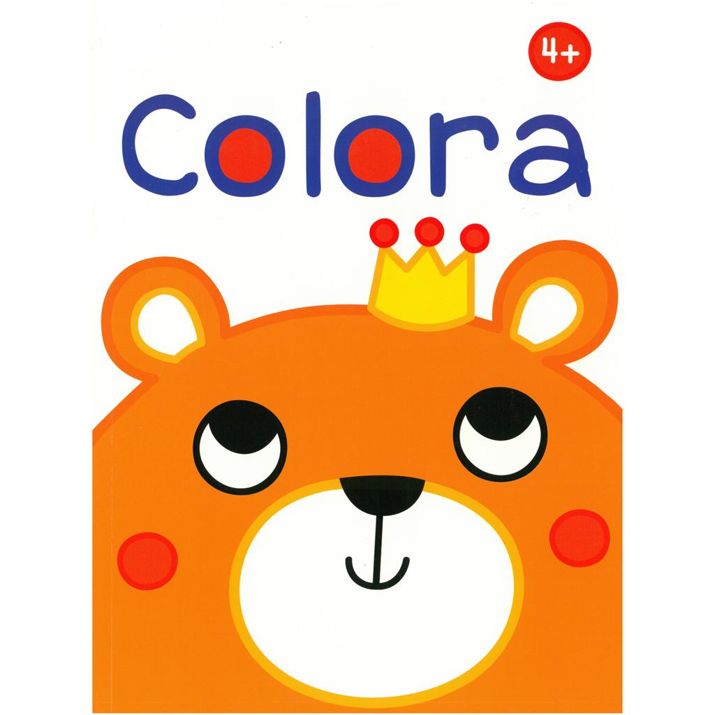 Afbeelding van Kleurboek Colora 4+