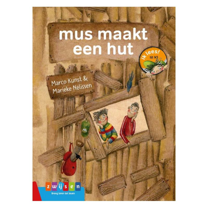 Afbeelding van Boek Avi M3 Mus Maakt Een Hut