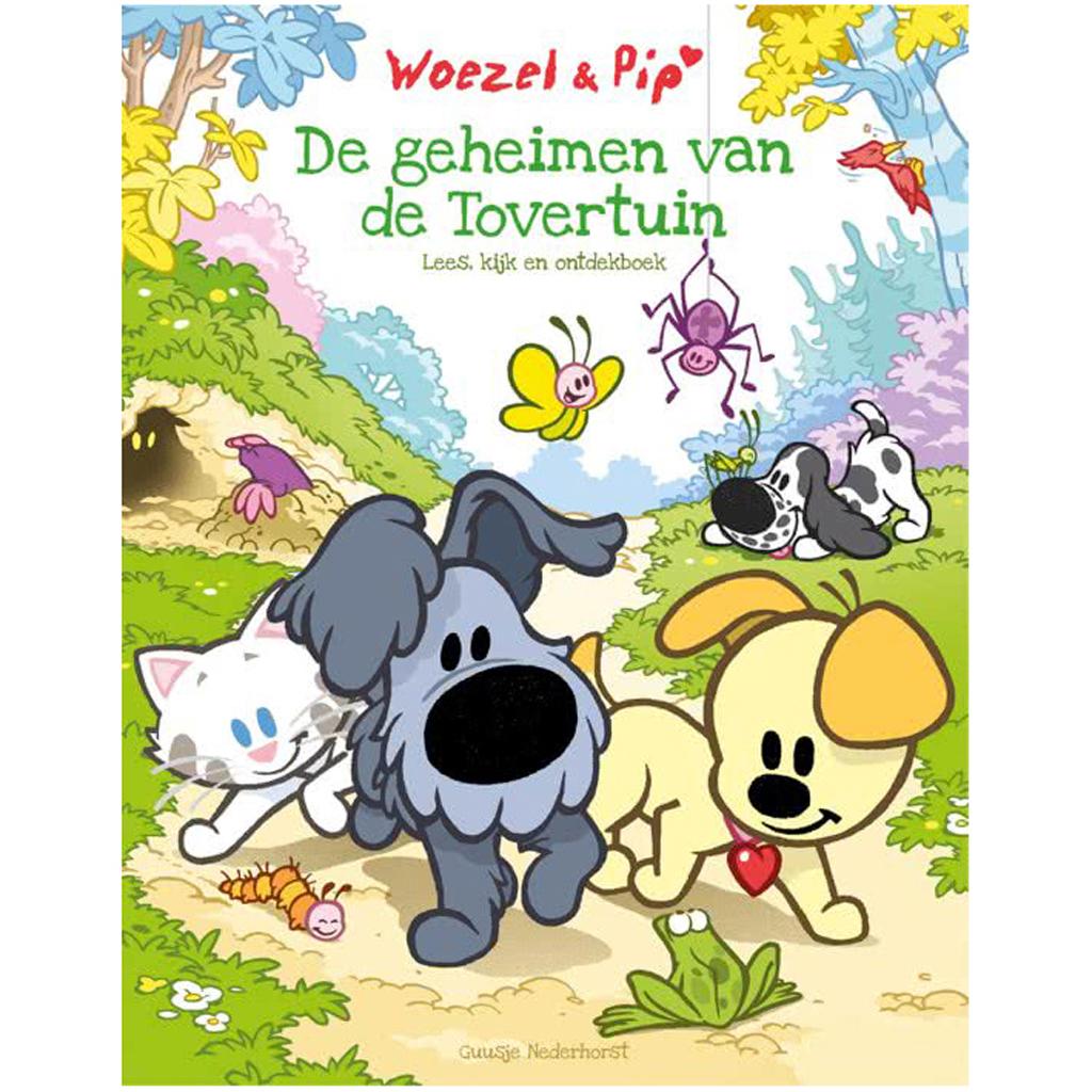 Afbeelding van Boek Woezel & Pip De Geheimen Van De Tovertuin