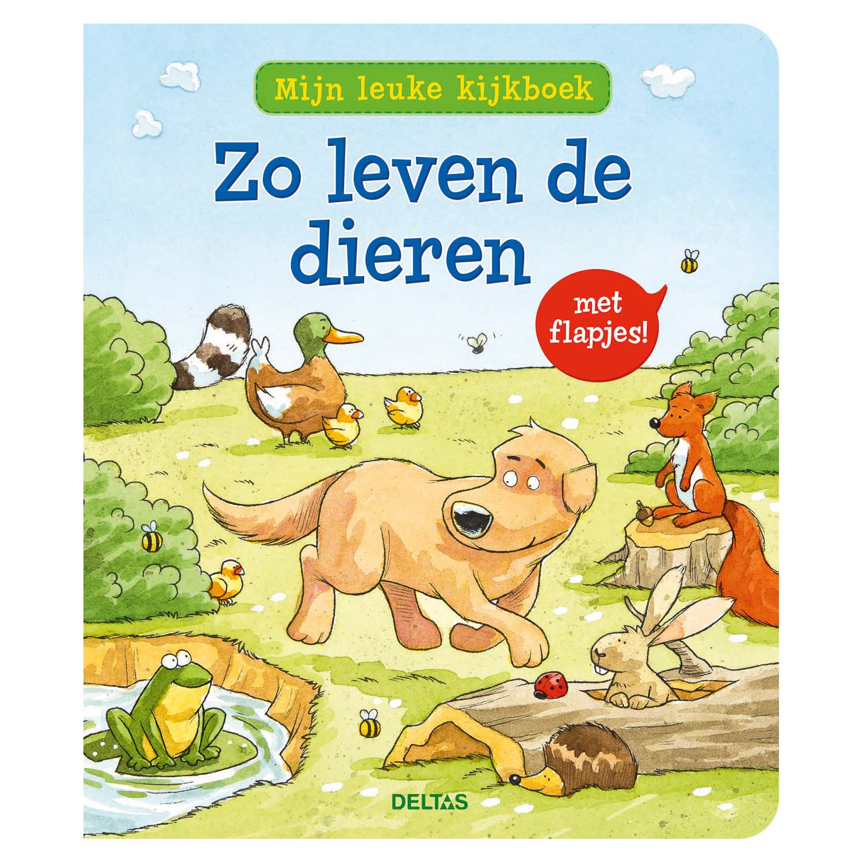 Afbeelding van Boek Flapjesboek Mijn Leuke Kijkboek Zo Leven De Dieren