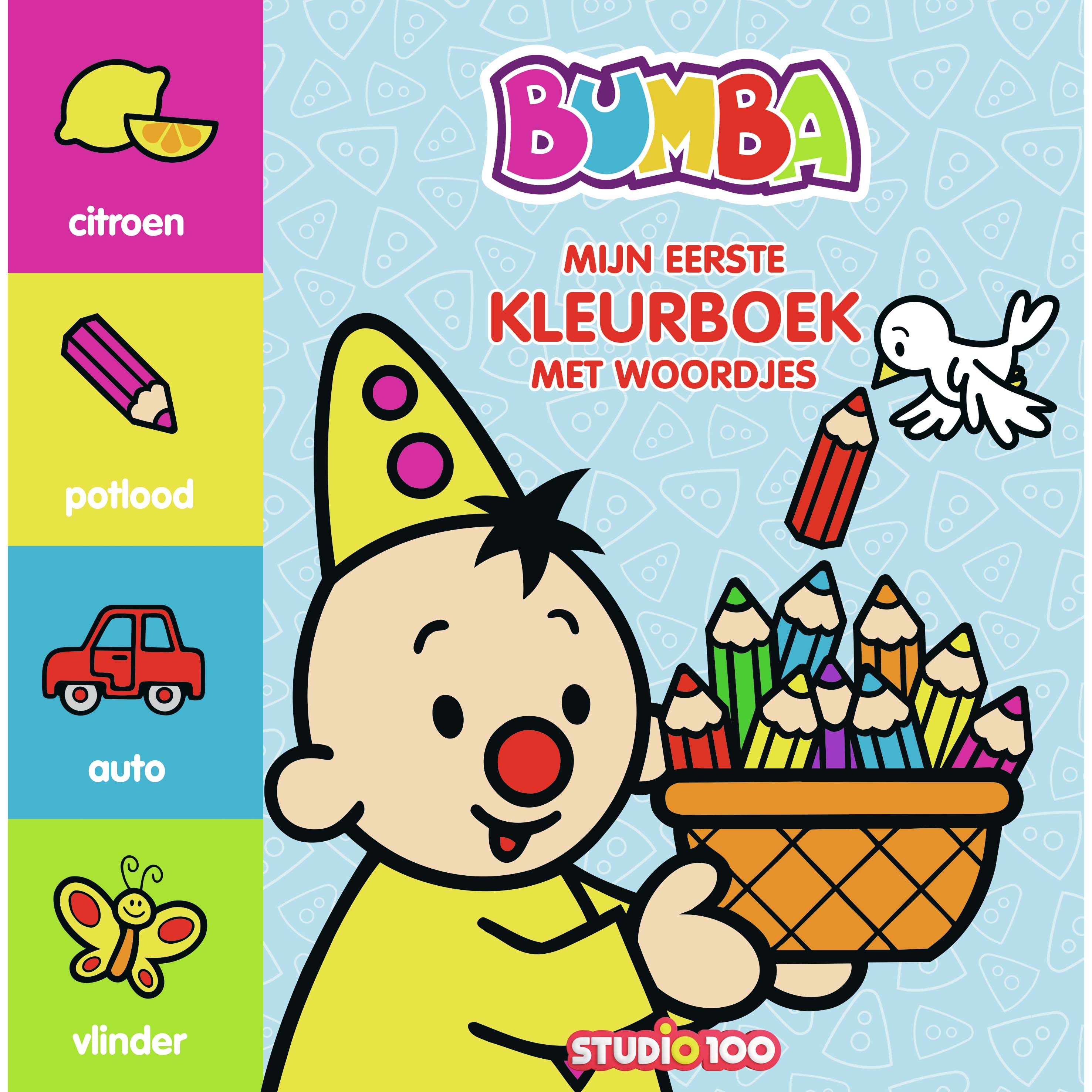 Afbeelding van Bumba Kleurboek Met Woordjes