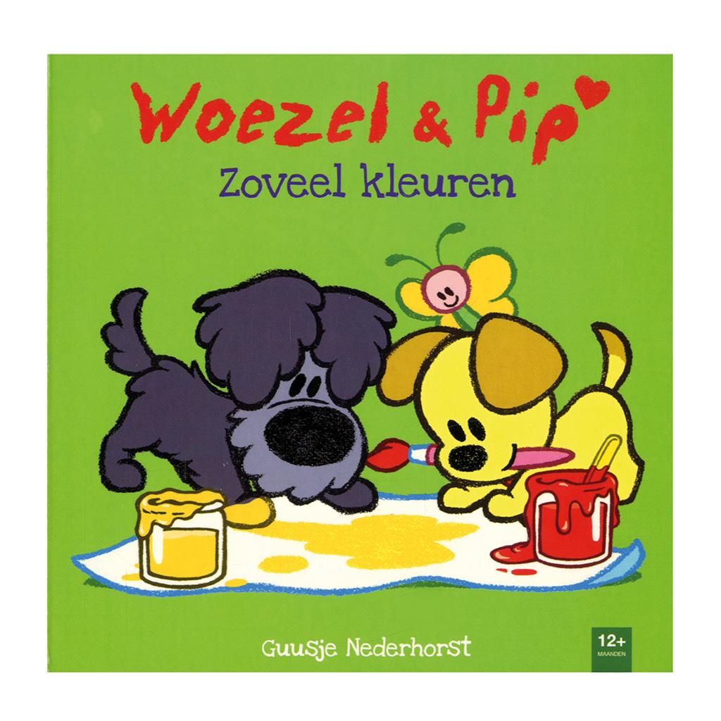 Afbeelding van Boek Woezel & Pip Zoveel Kleuren