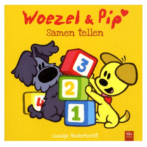Afbeelding van Boek Woezel & Pip Samen Tellen