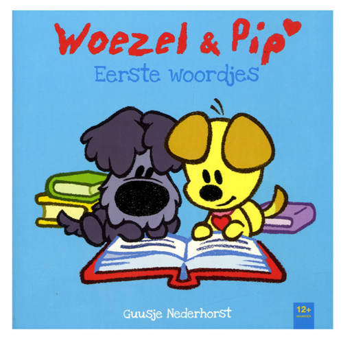 Afbeelding van Boek Woezel & Pip Eerste Woordjes