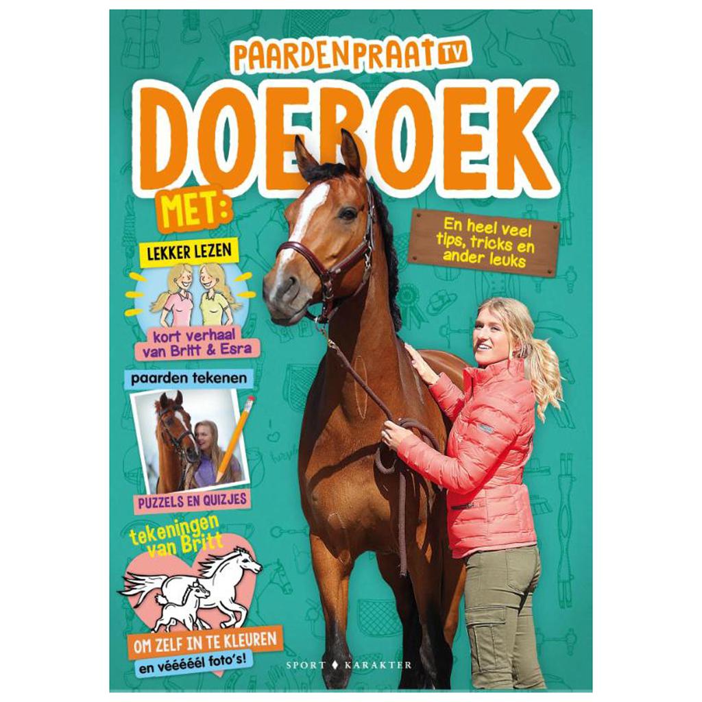 Afbeelding van Boek Britt en Esra het Paardenpraat Tv