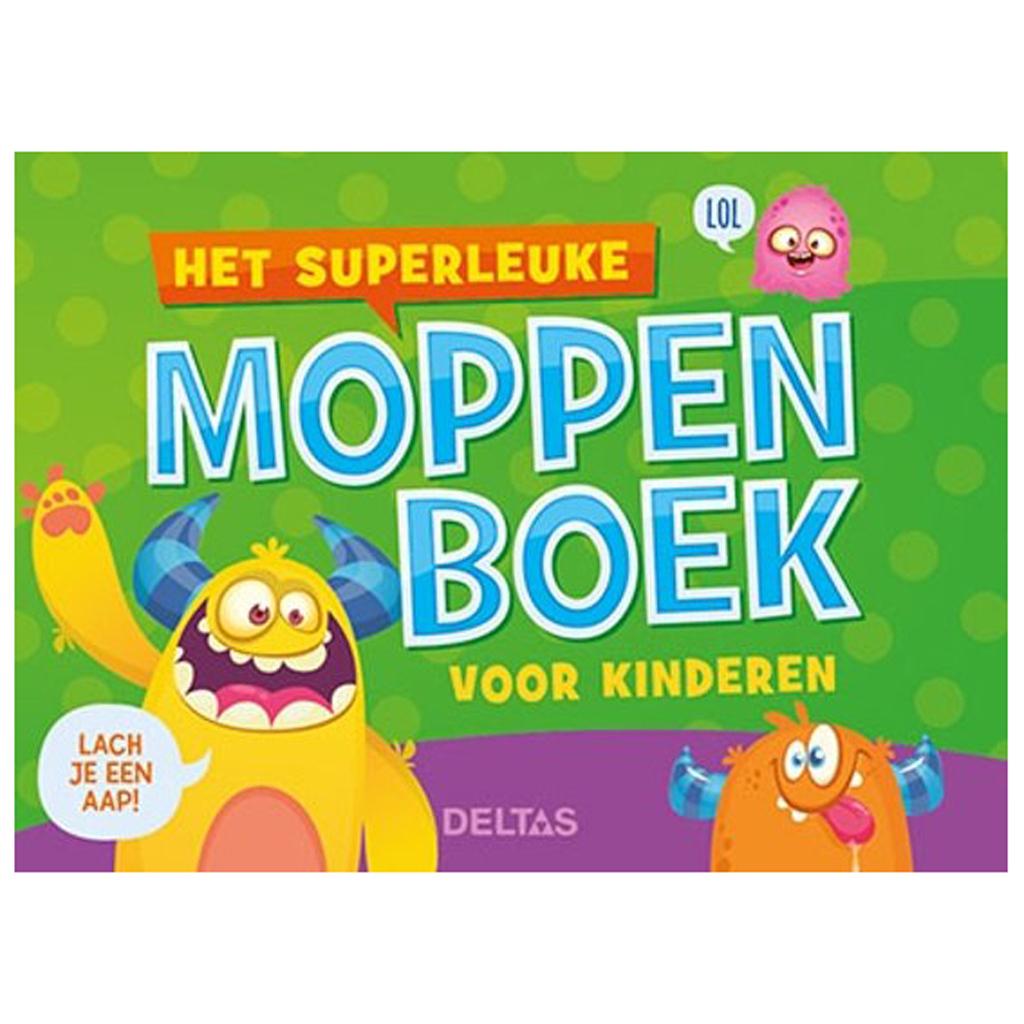 Afbeelding van Boek Superleuke Moppenboek Voor Kinderen