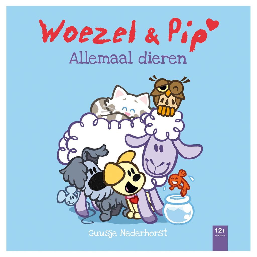 Afbeelding van Boek Woezel & Pip Allemaal Dieren