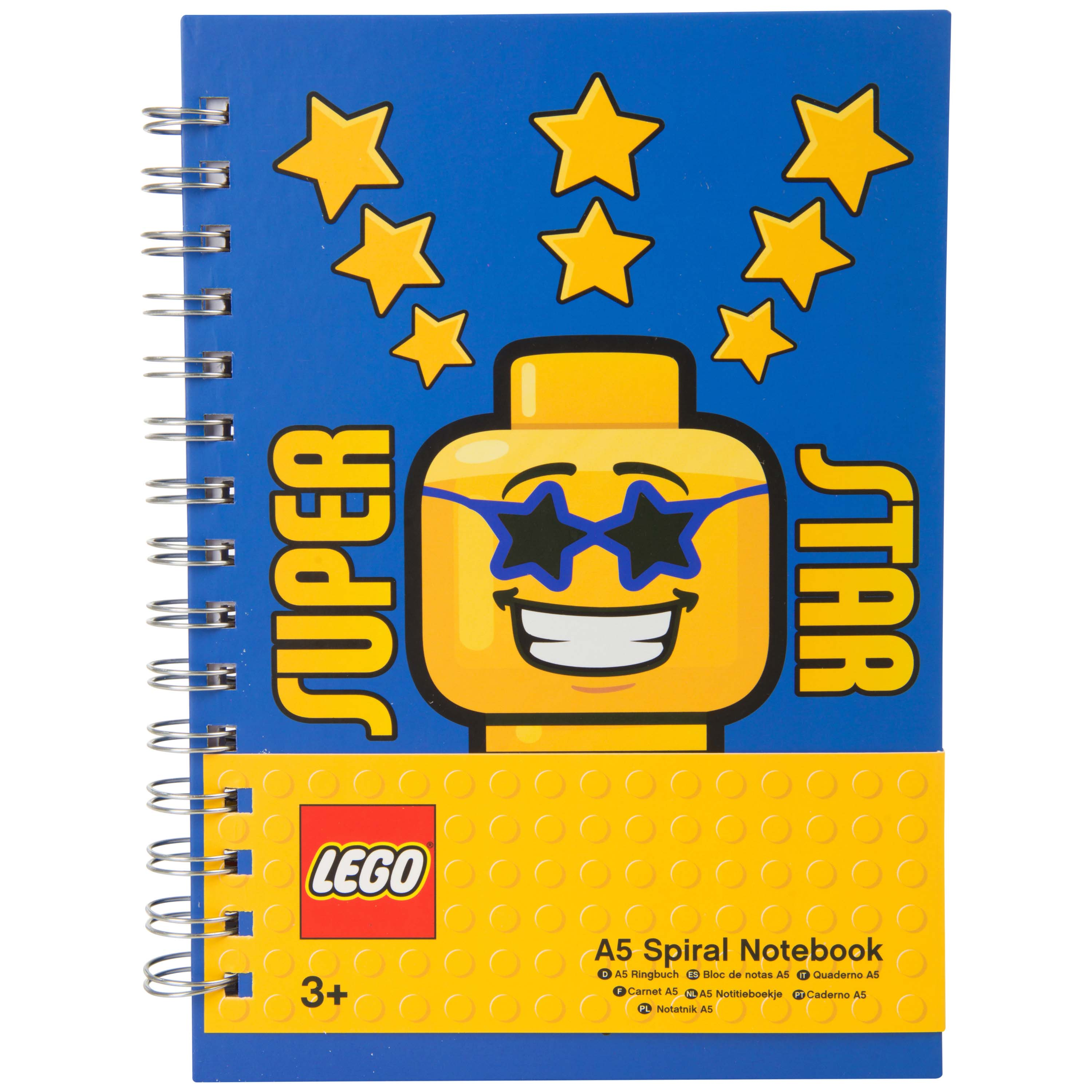Afbeelding van LEGO Notitieboekje Superstar