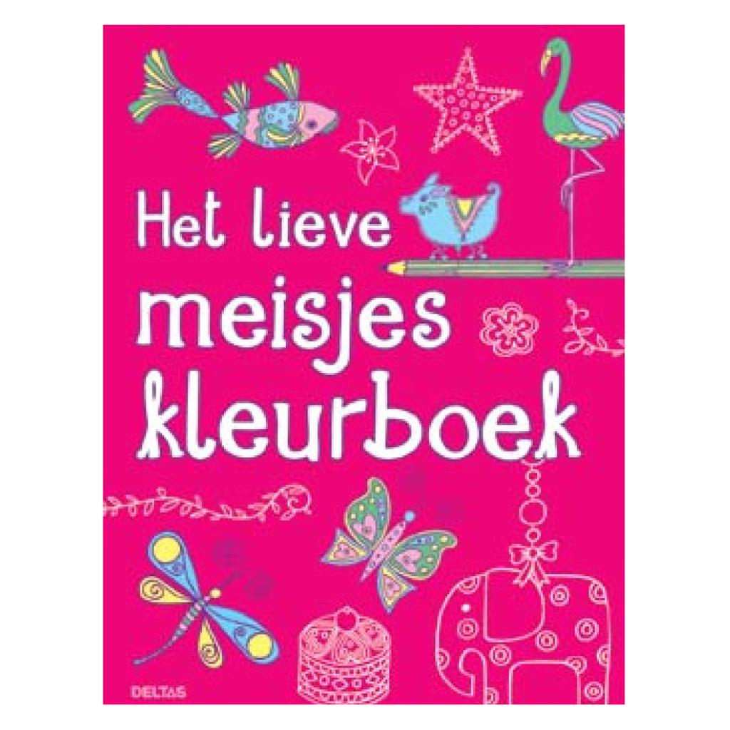 Afbeelding van Kleurboek Het Lieve Meisjes Kleurboek