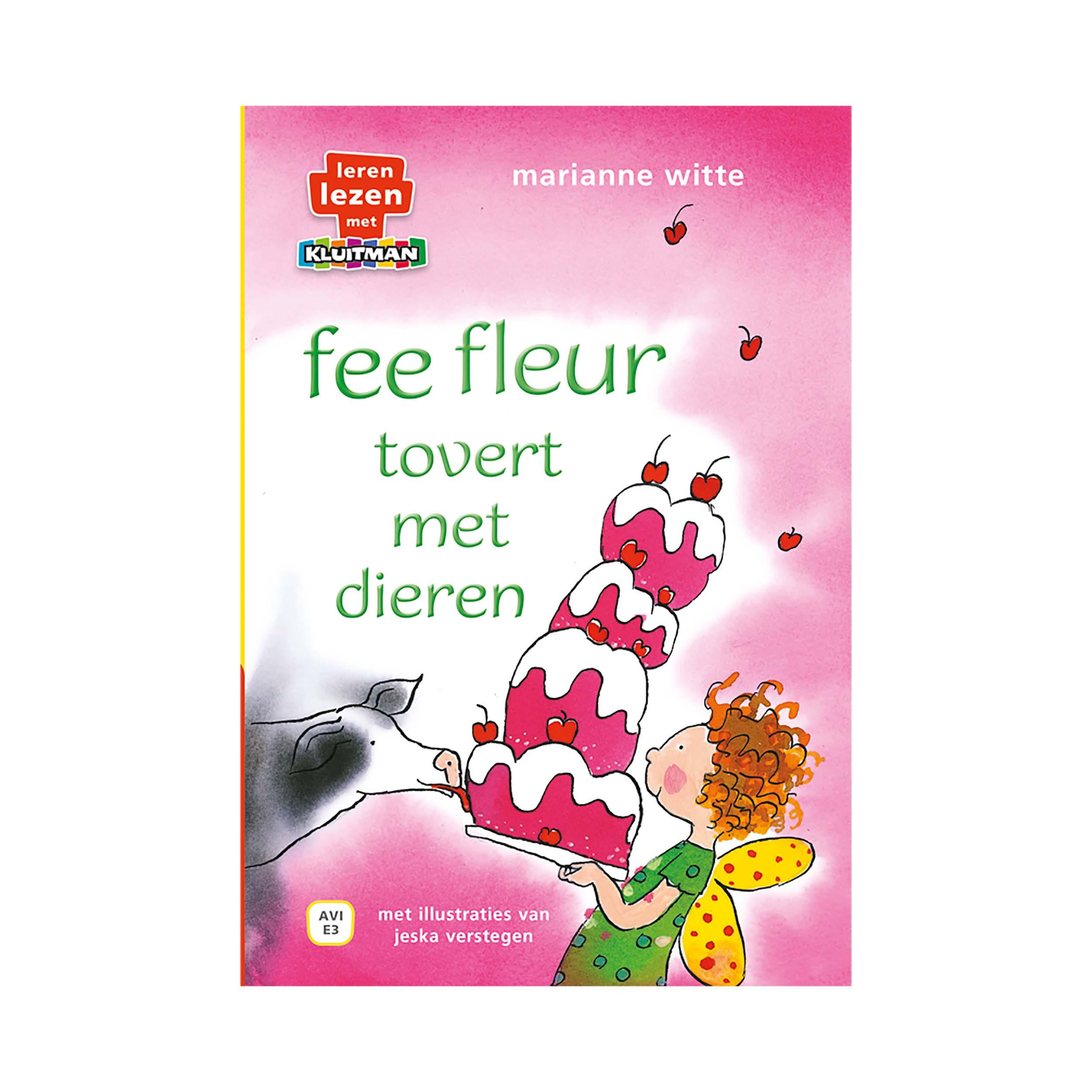Afbeelding van Boek AVI E3 Fee Fleur Tovert Met Dieren Lerezen Lezen Met Kluitman