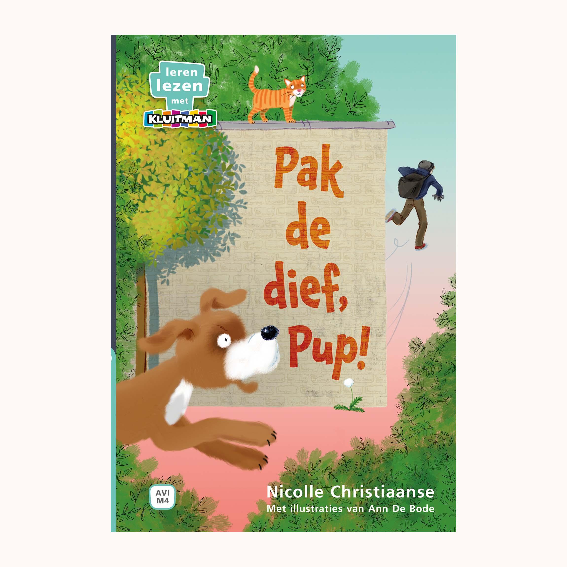 Afbeelding van Boek AVI M4 Pak De Dief, Pup! Leren Lezen Met Kluitman