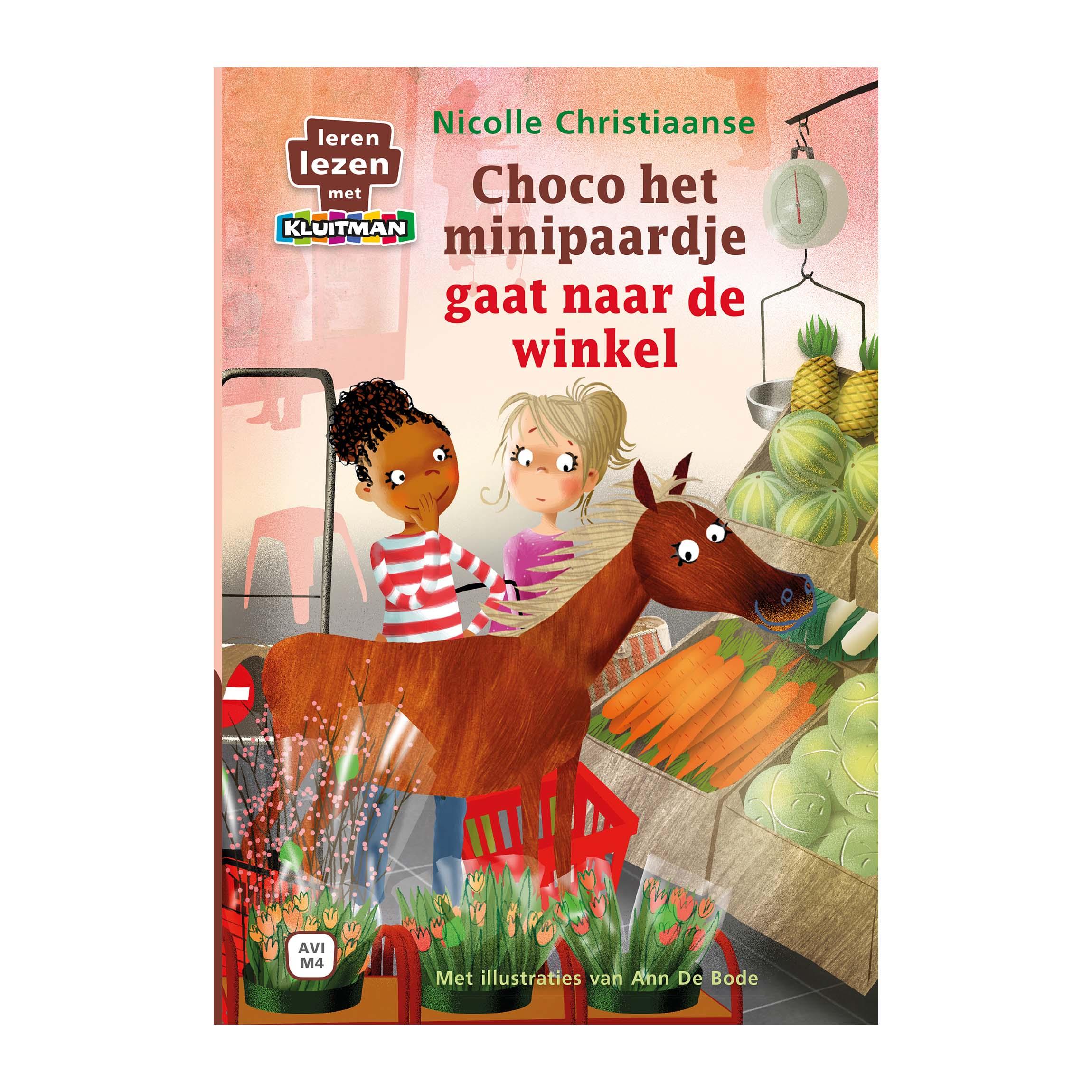 Afbeelding van Boek AVI M4 Choco Gaat Naar De Winkel Leren Lezen Met Kluitman