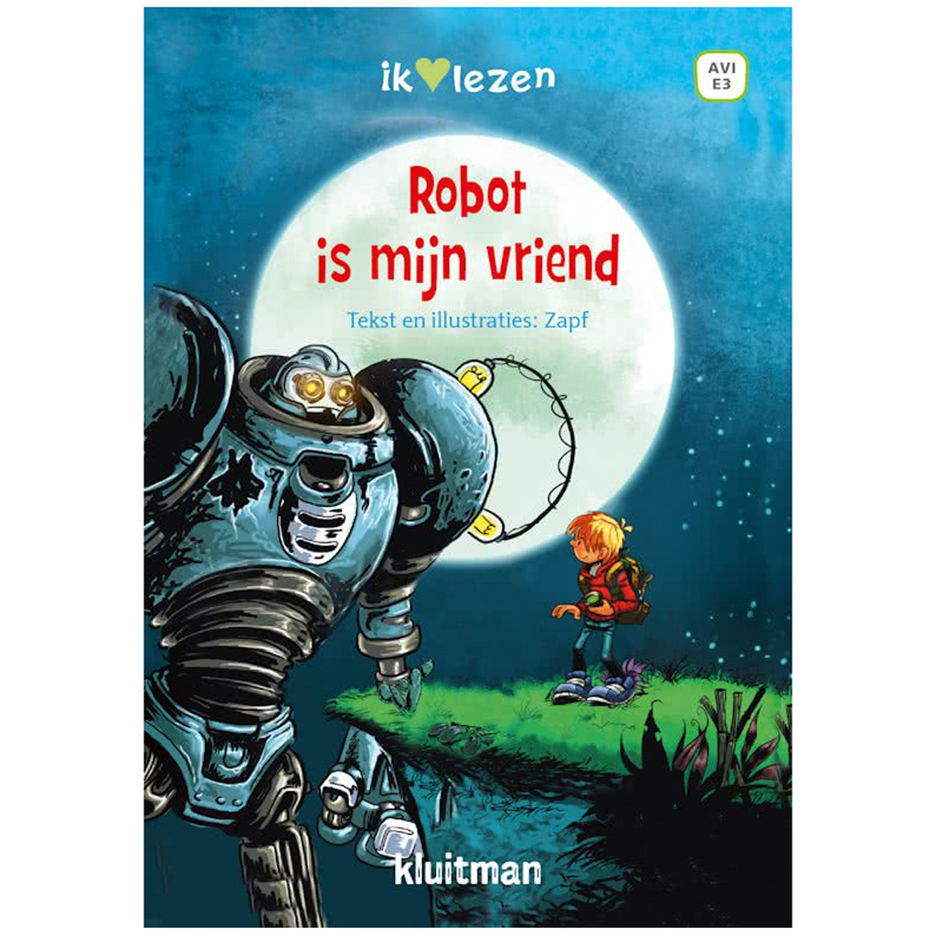 Afbeelding van Boek Robot is Mijn vriend Avi E3